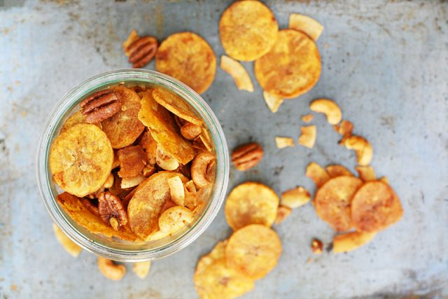 What's in paleo Chex Mix? Click through to find out more about this favorite snack mix!