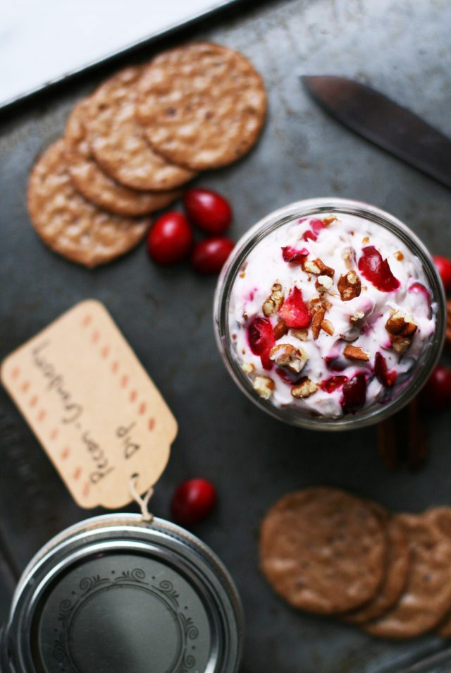 Pecan cranberry dip: A 5-ingredient dip that's easy to make - and perfect for the holidays!