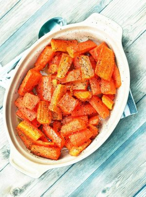 Buttery Baked Carrots