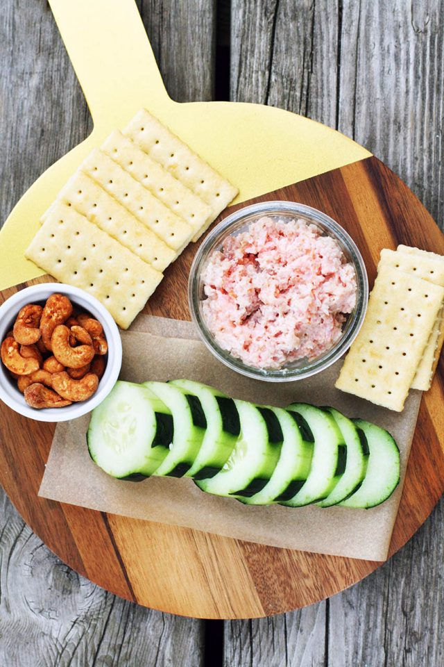 Leftover ham salad: Learn how to make this simple ham salad.