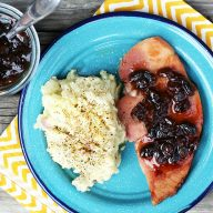 How to make raisin sauce for ham. Pantry staples make up this simple sauce that's perfect for your Easter ham.