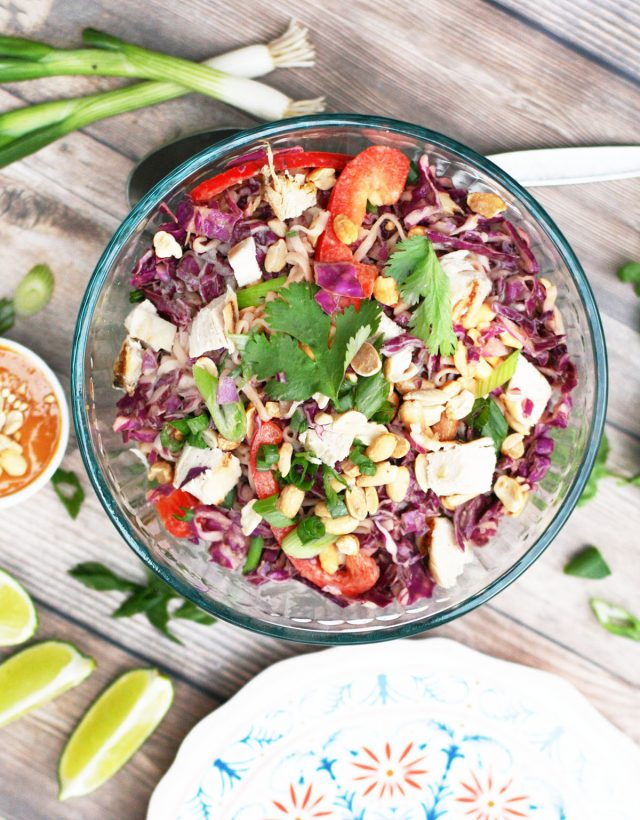 Peanut ramen salad: The perfect summer picnic salad recipe that's cheap and delicious!