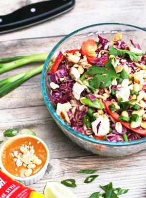 Peanut Ramen Salad