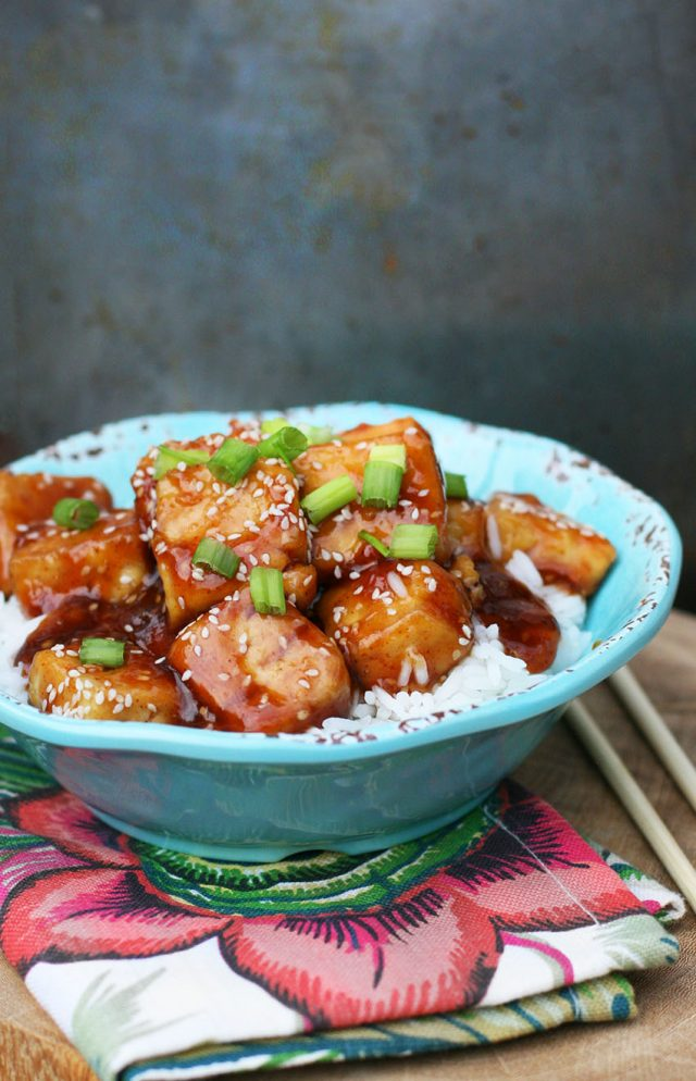 Spicy honey tofu: Learn how to make delicious Chinese take-out at home!