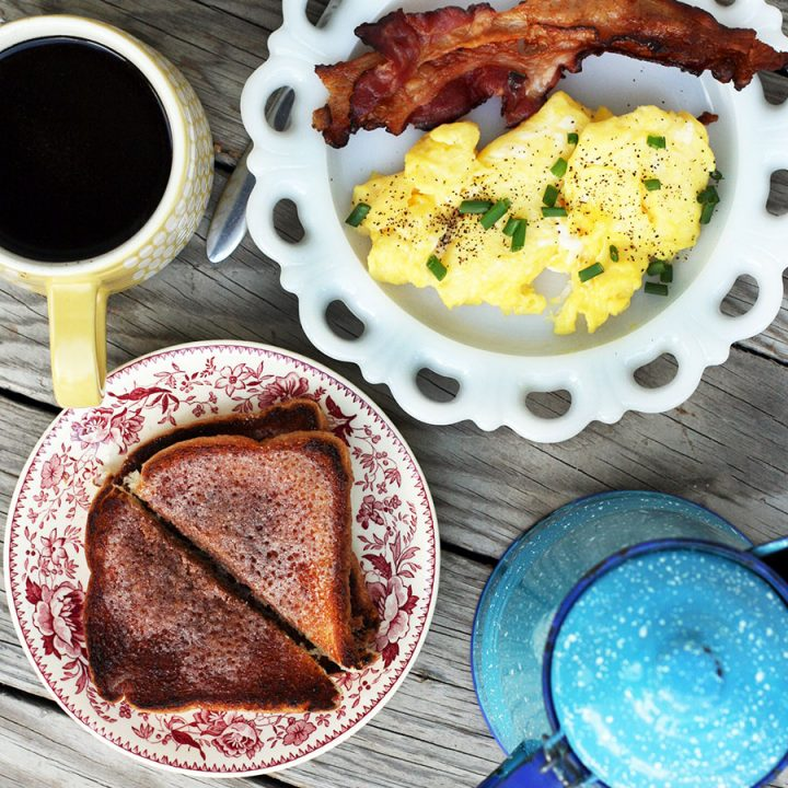Learn how to make fancier cinnamon toast. Click through for this cheap and easy recipe!