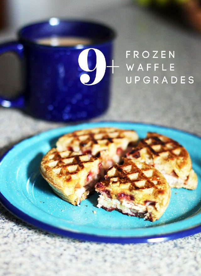 9+ frozen waffle upgrades: Make the most out of this freezer breakfast staple!