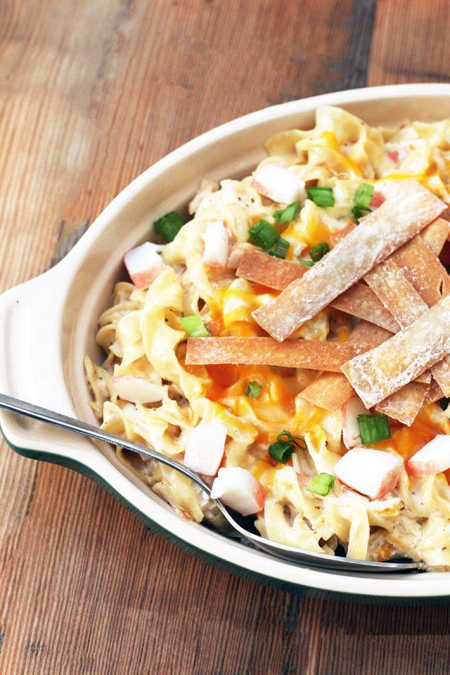Crab rangoon hotdish: A Chinese spin on hotdish - click through for recipe!