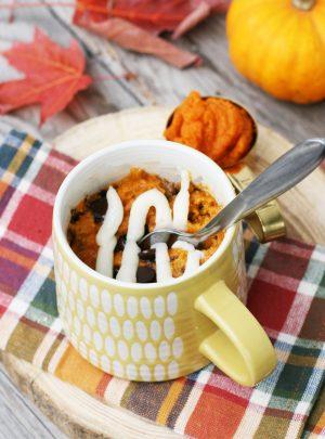 Pumpkin Mug Cake (Gluten Free)