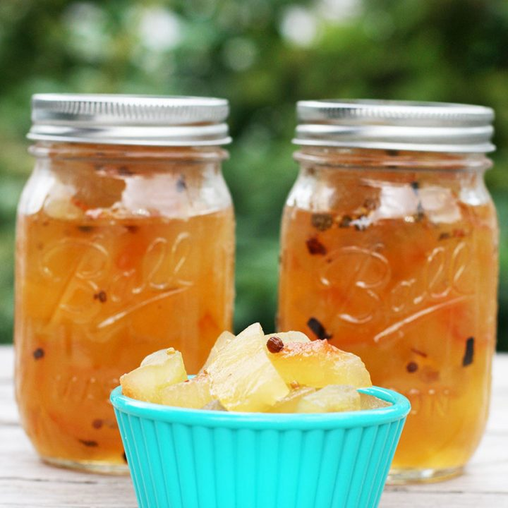 How to make homemade watermelon pickles out of watermelon rinds.