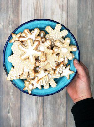 Norwegian Pepperkaker Cookies