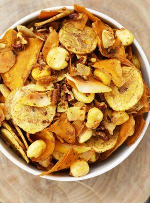 Gluten-Free Ranch Snack Mix
