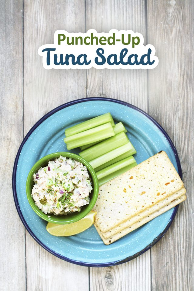 Punched-up tuna salad: My favorite tuna salad recipe that's full of delicious, flavorful ingredients.