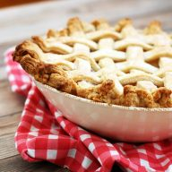 Pie in a bowl: Did you know that you can make pie in an ovenproof bowl? Believe it!