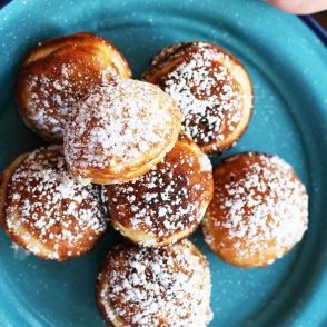 Danish Aebleskiver recipe: Make these Danish pancakes, made in a special pan that makes them round and delicious!