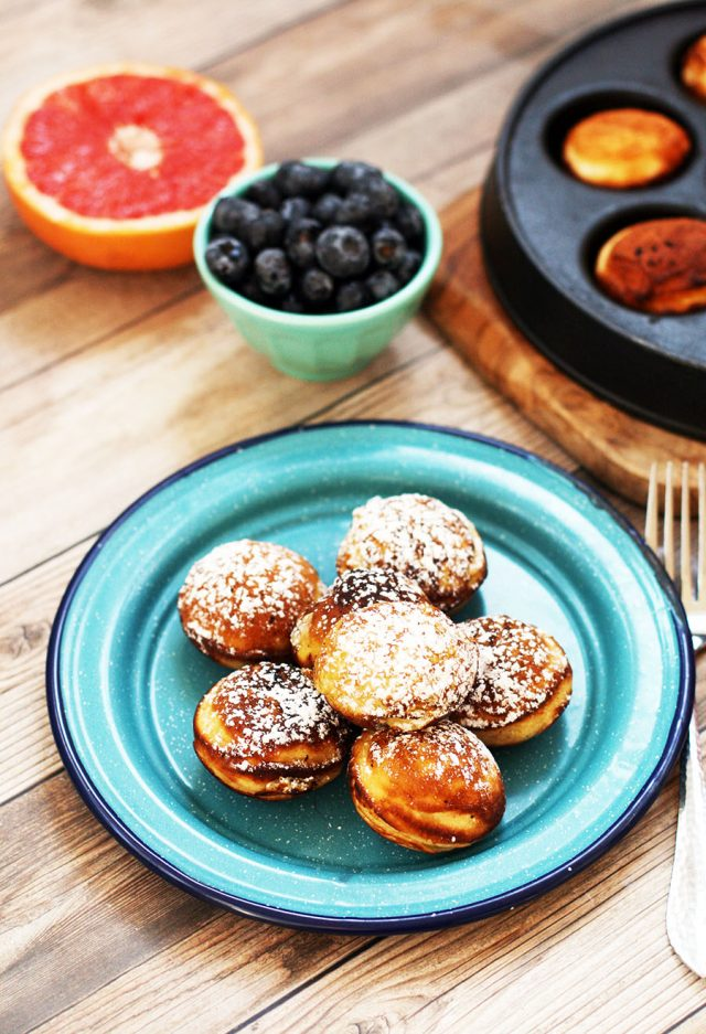 Aebleskiver recipe: Danish pancakes. Click through to learn how to make this Danish delicacy!