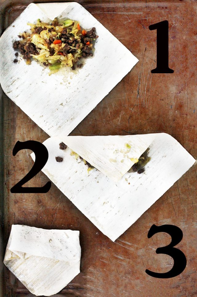 How to fold egg rolls: Get instructions for making homemade egg rolls at home!