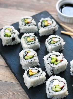 How To Make (Cheap) California Rolls At Home: Just $1.50 Each