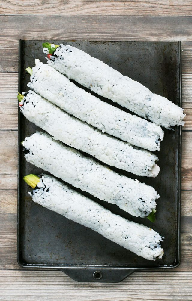 Making your own California rolls at home is easy and MUCH cheaper!
