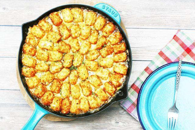 Learn how to make Minnesota's quintessential dish: Tator tot hotdish!