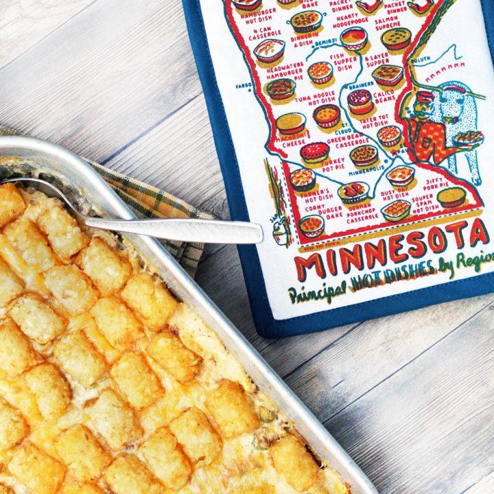 Tator tot hotdish: The classic recipe that defines Minnesota cuisine! Click through for recipe.