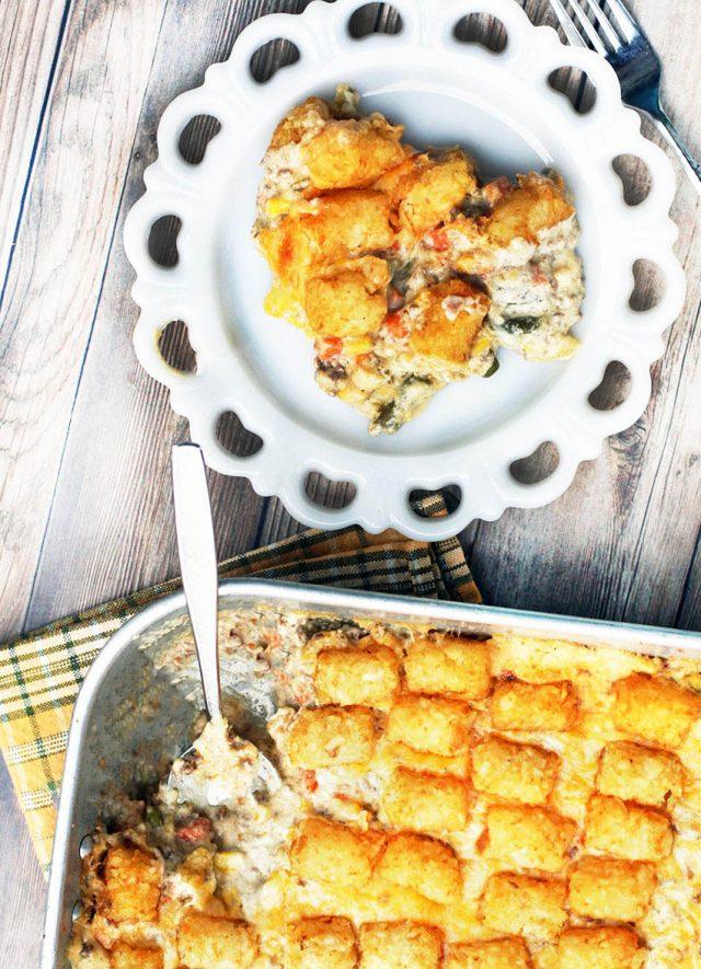 Tator tot hotdish: The classic hotdish recipe that Minnesotans call their own.