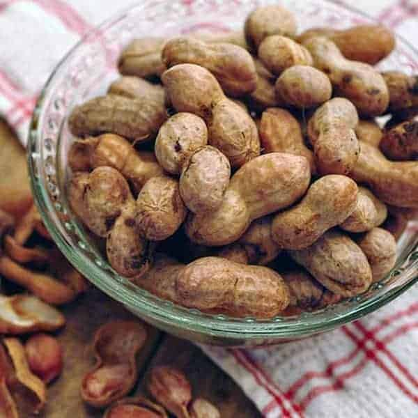 Boiled peanuts recipe, from the great state of Georgia