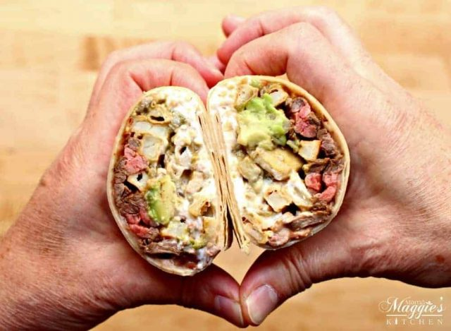 Learn how to make a California burrito - a classic San Diego food that you can make at home!