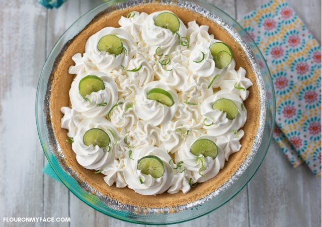 Learn how to make key lime pie at home - Florida's national pie. Click through for recipe!