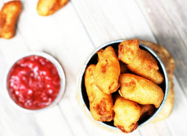 Deep-fried cheese curds! The only thing better than fresh cheese curds are deep-fried cheese curds. Learn how to make them at home.